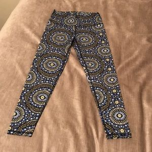 Aerie high waisted printed leggings